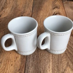 Pair of hearth and hand mugs